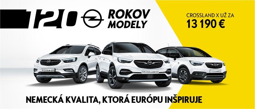 120 rokov Opel