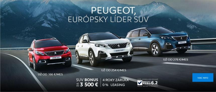 Peugeot, Európsky líder SUV