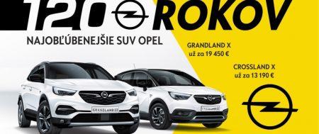 Najobľúbenejšie SUV Opel