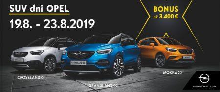 SUV Dni Opel