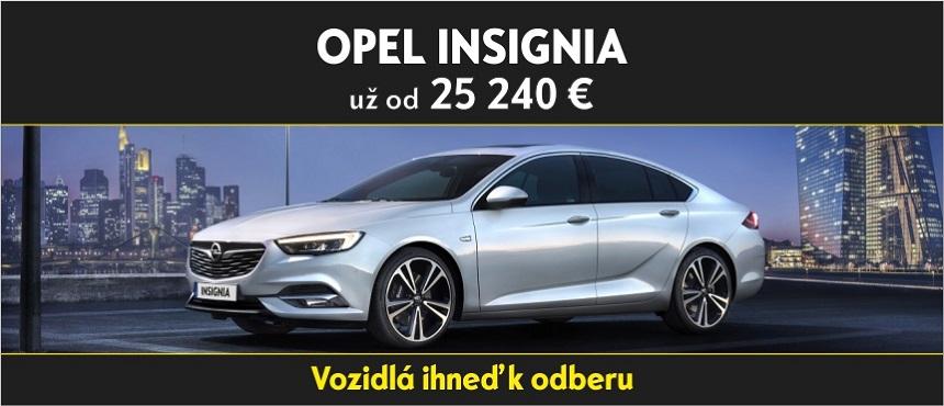 Opel INSIGNIA – ihneď k odberu