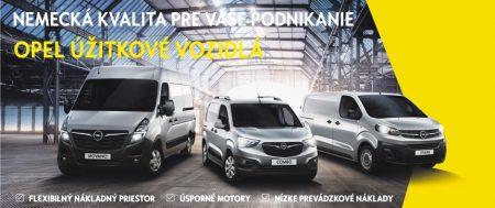 Opel úžitkové vozidlá