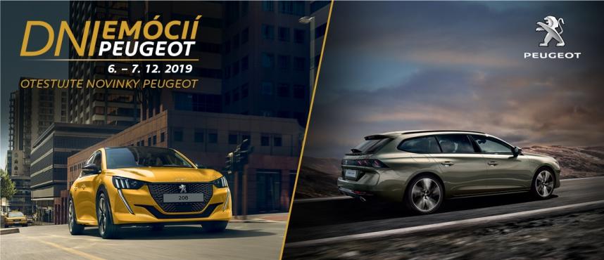 DNI Emócií Peugeot