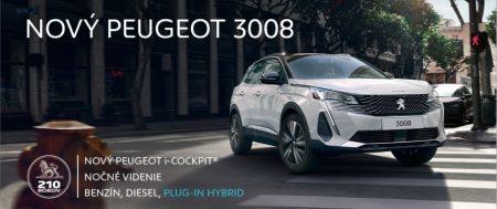 nový Peugeot 3008 – čas na zmenu