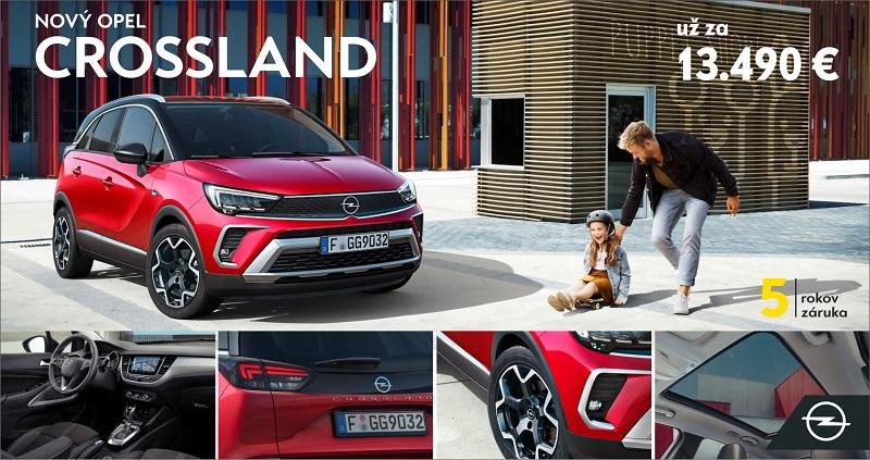 Nový Opel CROSSLAND